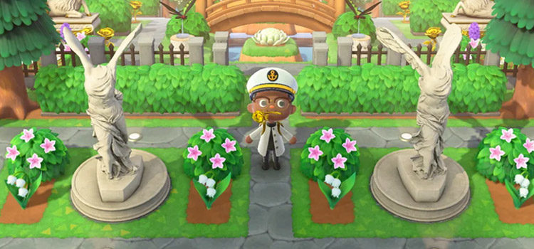 Cool Statue Design Ideas For Animal Crossing: New Horizons