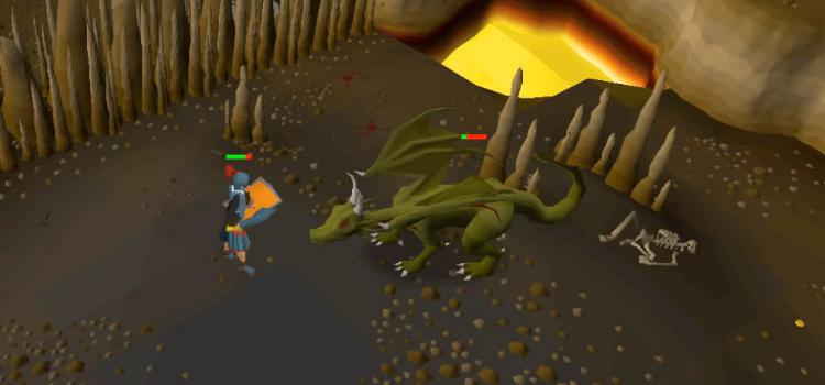 Dragon Slayer Quest Screenshot from Old School RuneScape