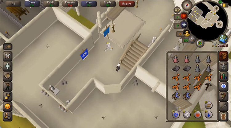 The Knight's Sword OSRS game screenshot