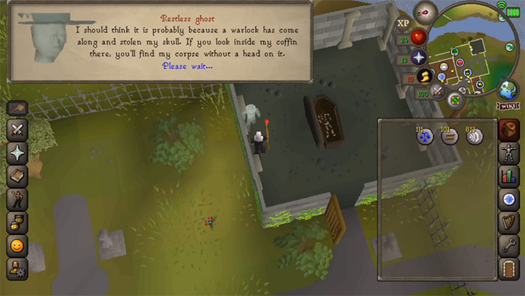 Restless Ghost OSRS Quest