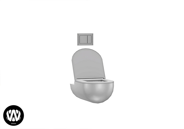 Pyrus Toilet for Sims 4