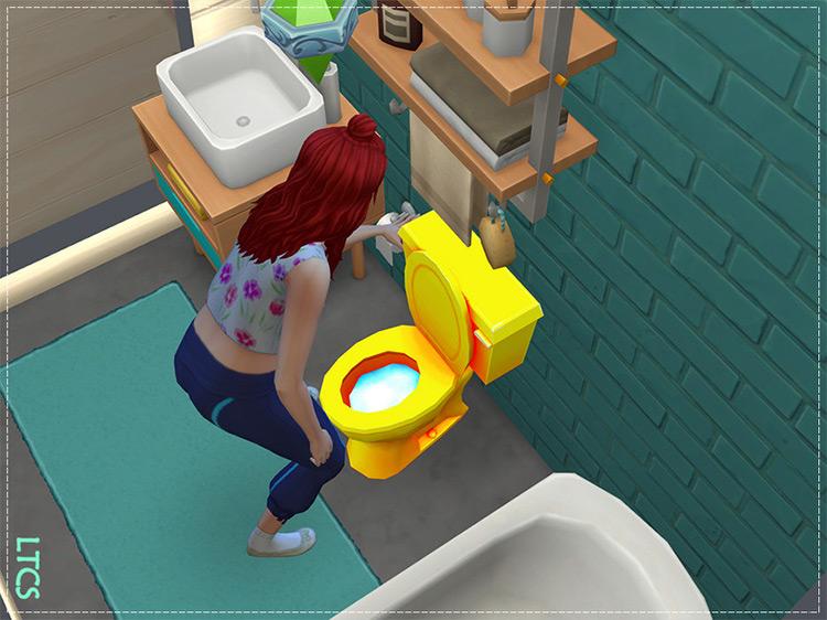 Golden John Toilet TS4 CC