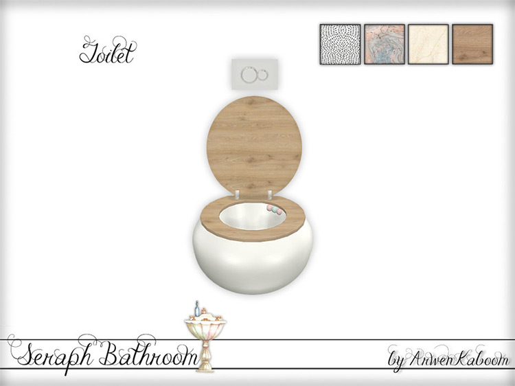 Seraph Toilet for Sims 4