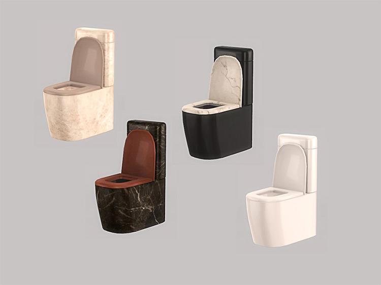 Bathroom Angi Toilet Sims 4 CC