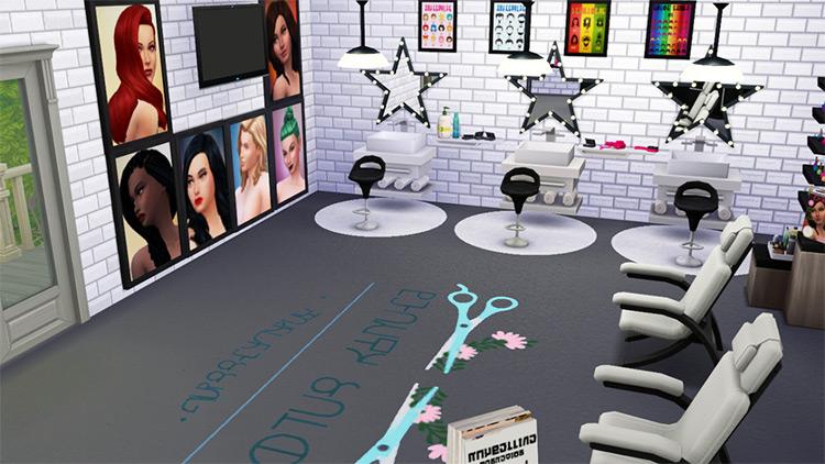 BrittPinkiesims' Beauty Salon Stuff TS4 CC