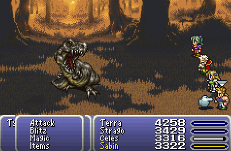 Dinosaur Forest (World of Ruin) FFVI