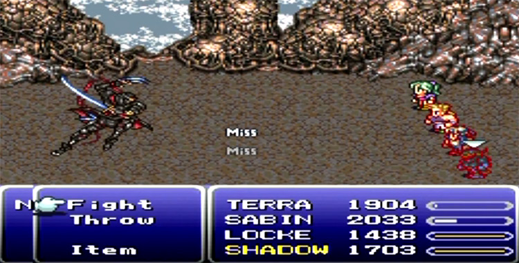 Floating Continent in FF6