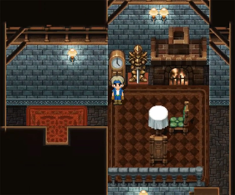 Paladin Shield in Final Fantasy VI
