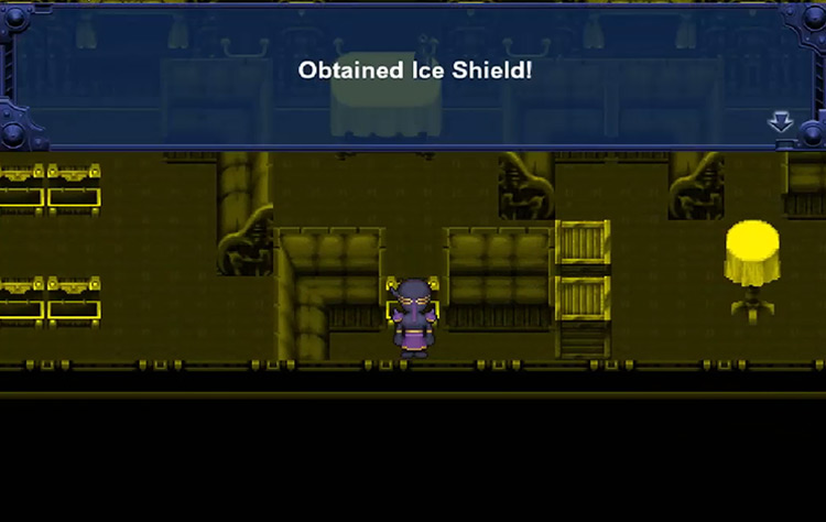 Ice Shield in FFVI