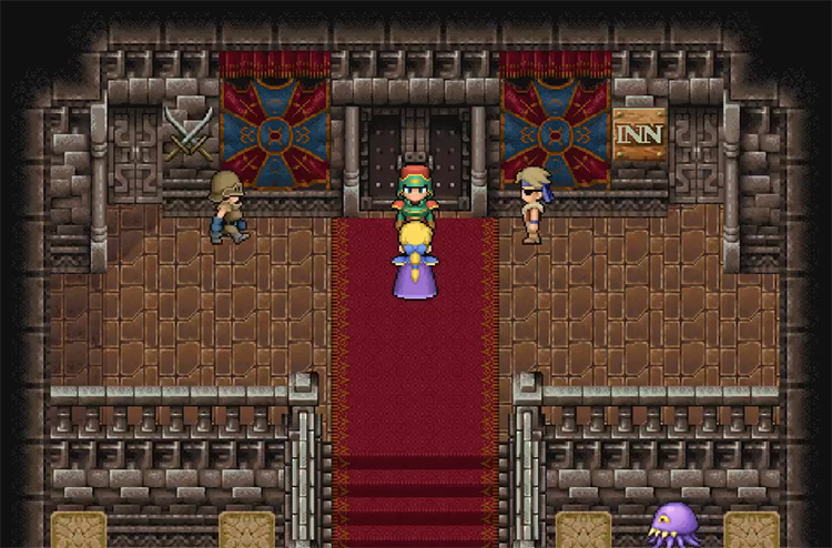 Tortoise Shield in Final Fantasy VI
