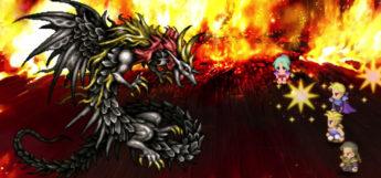 Dragons Den Stealing Celestriad in FF6