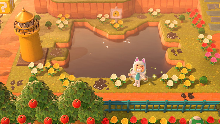 Bowsers Fury Lake Lapcat Redesigned in ACNH