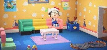 Kidcore Room Interior in Animal Crossing New Horizons