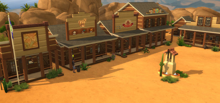 Sims 4 Wild West & Cowboy CC (All Free To Download)