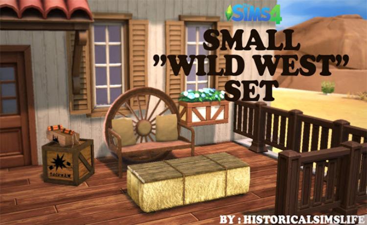 Small 'Wild West' Set TS4 CC