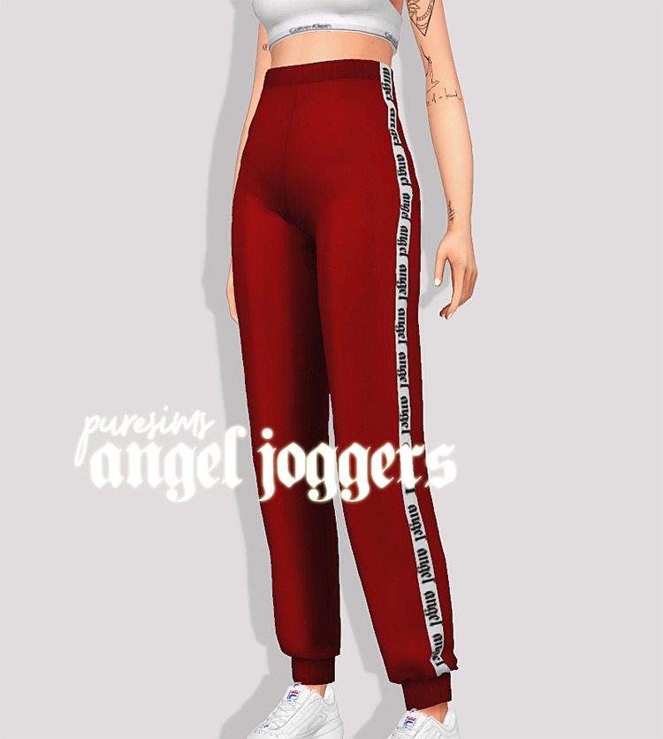 Angel Joggers CC for Sims 4