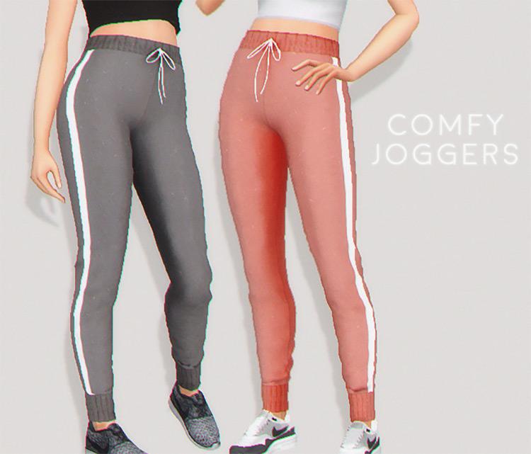 Comfy Joggers Sims 4 CC screenshot