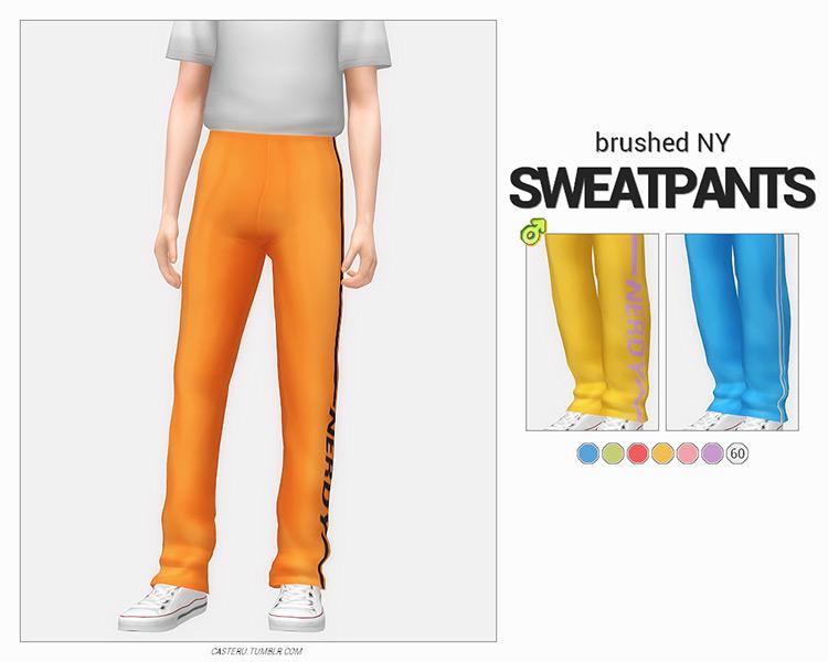 Brushed NY Sweatpants TS4 CC