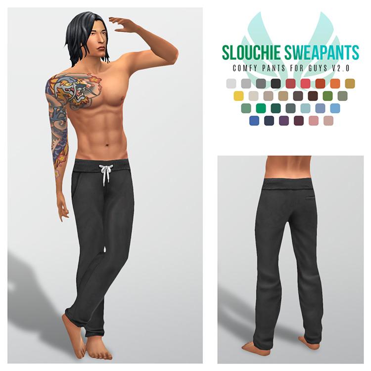 Slouchie Sweatpants Sims 4 CC