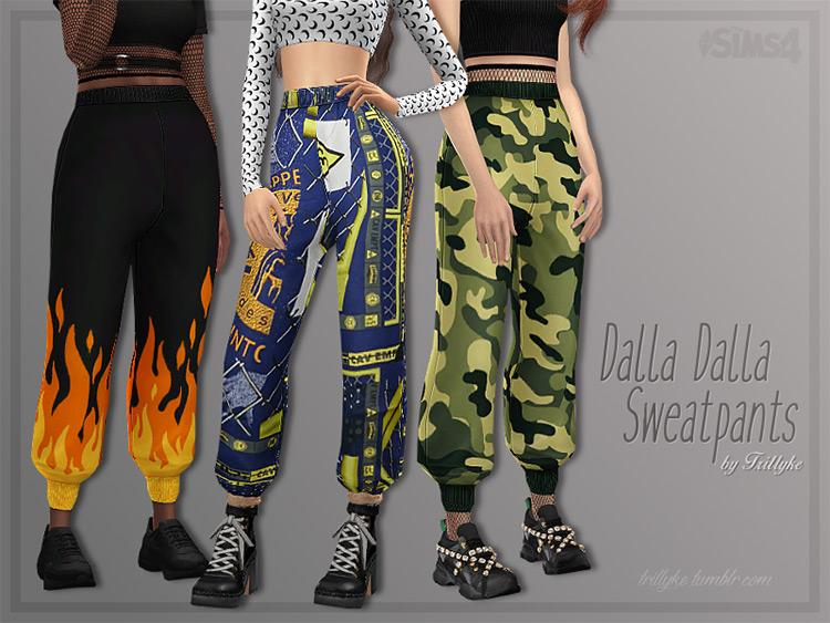 Dalla Dalla Sweatpants TS4 CC