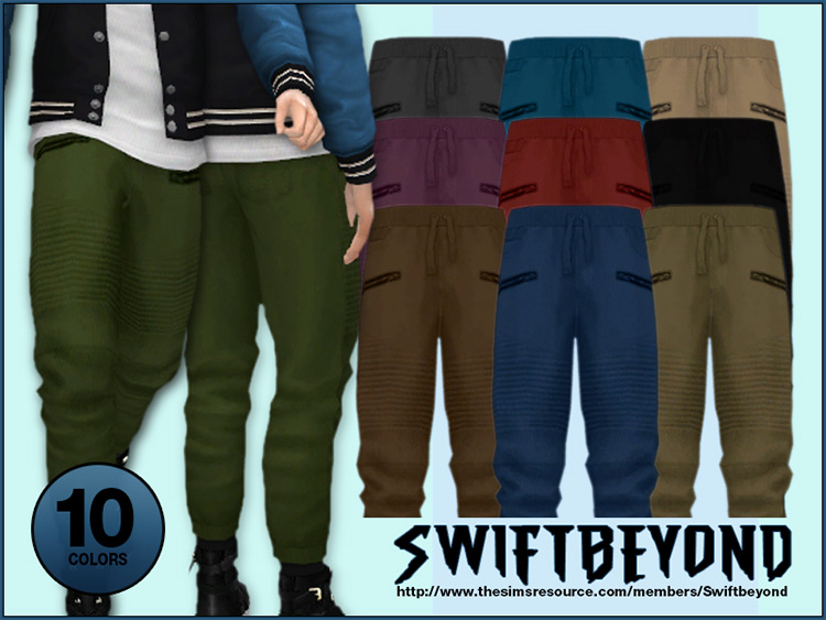 Jogger Pants for Sims 4
