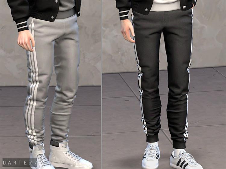 Slim Fit Joggers Sims 4 CC