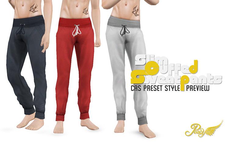 Slim Cuffed Sweatpants TS4 CC