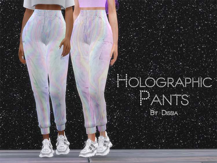 Holographic Pants for Sims 4