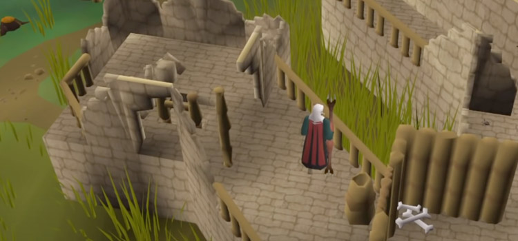 Mage Warrior Screenshot in OSRS