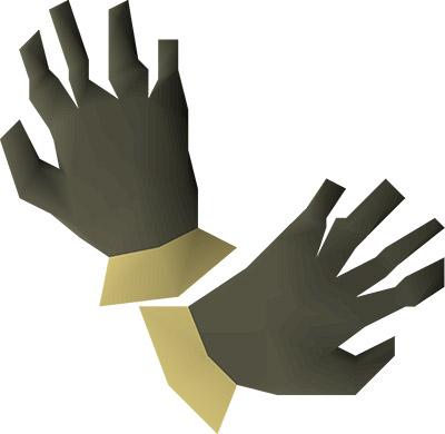 Barrows Gloves Render in OSRS
