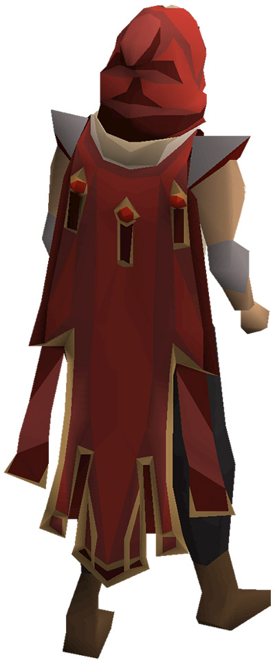 Max Cape OSRS Render