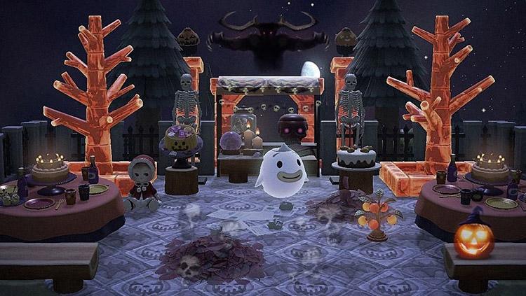 Spooky Halloween Party Idea for ACNH