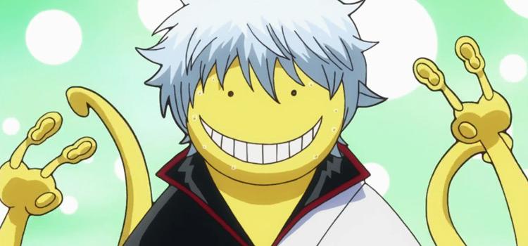 Gintoki Sakata in Gintama Anime