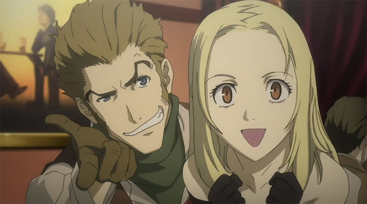 Isaac Dian and Miria Harvent from Baccano anime