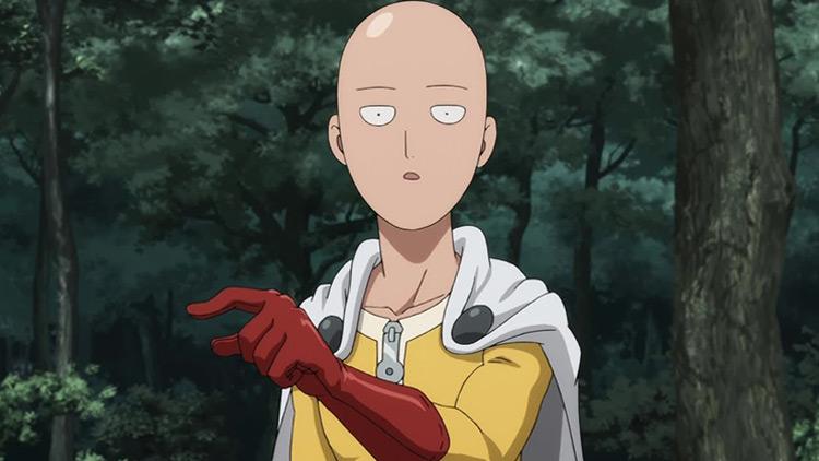 Saitama in One Punch Man anime