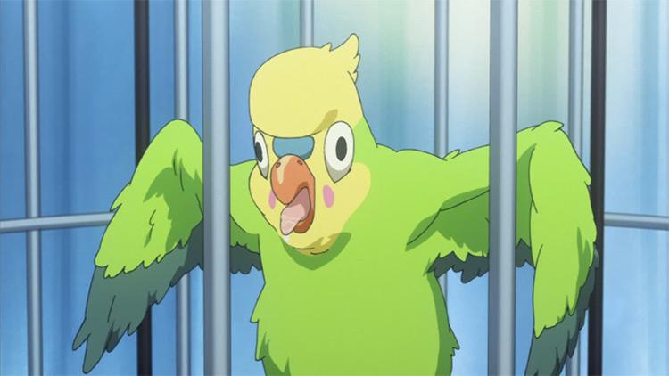Inko from Toradora! anime
