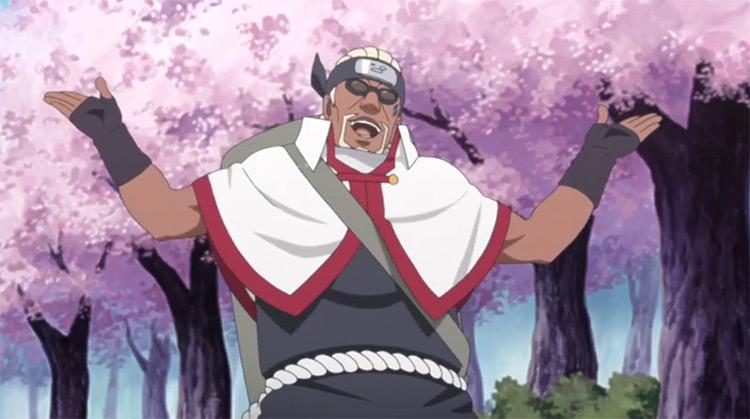 Killer B del anime Naruto: Shippuden