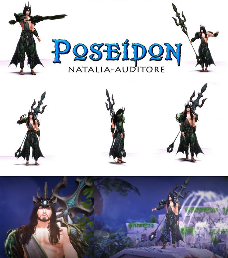 Poseidon for Sims 4