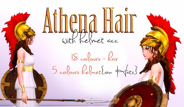 Athena Hair TS4 CC