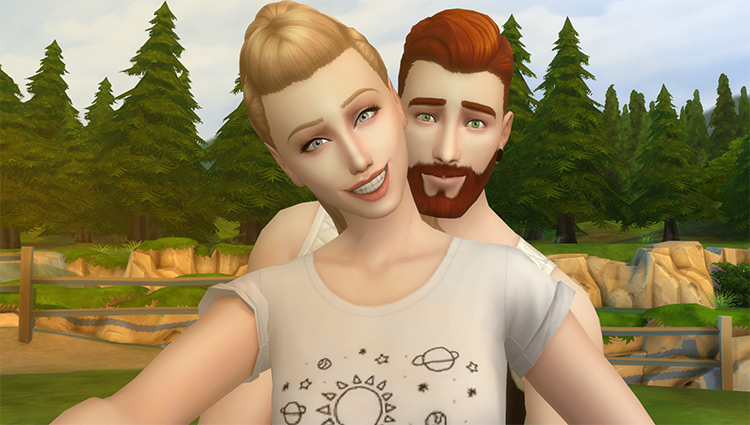 [Pose] Soulmate Selfie Pose Pack – Set 1 by Veiga Sims for Sims 4