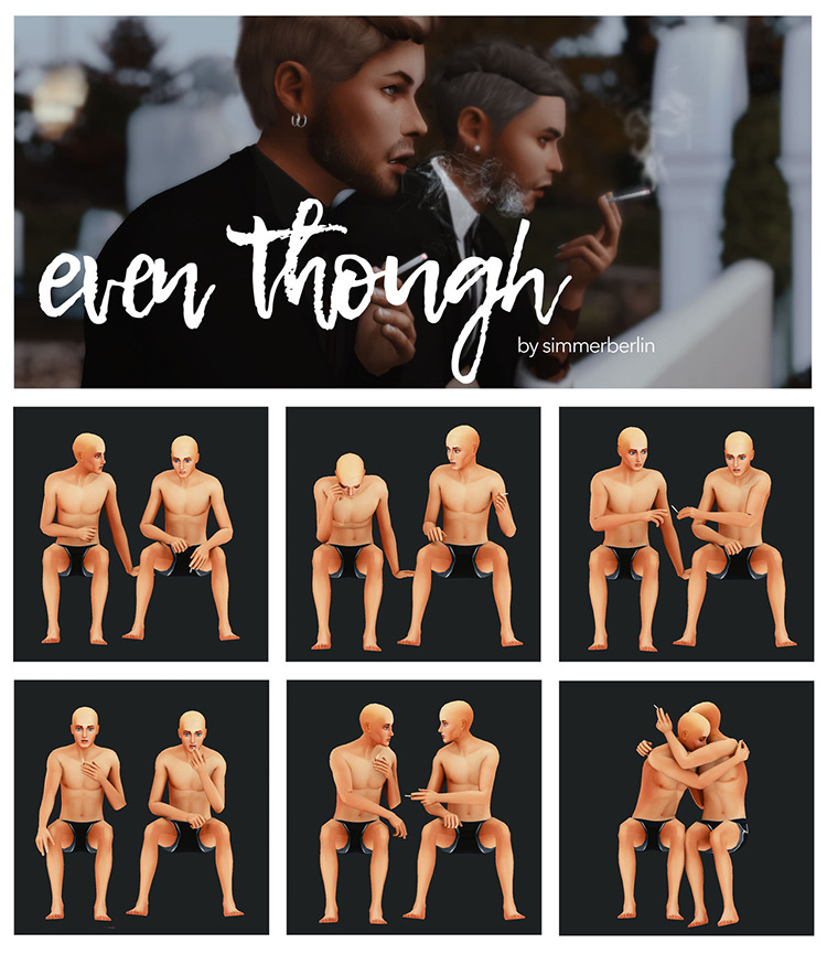 Even Though by simmerberlin for Sims 4