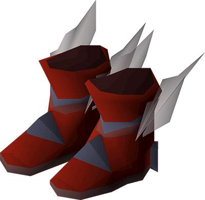 Primordial boots OSRS render