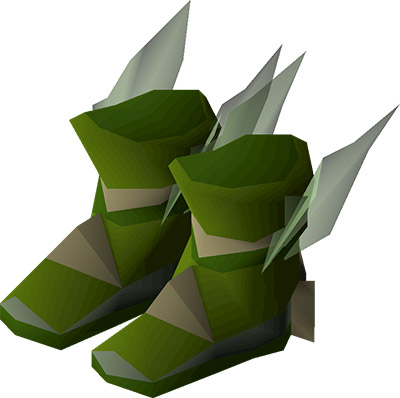 Pegasian boots OSRS render