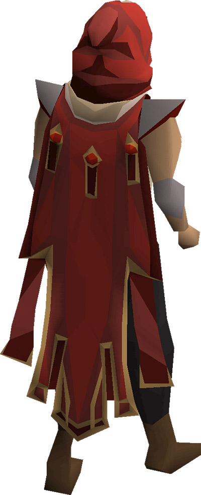 Max Cape Render from OSRS