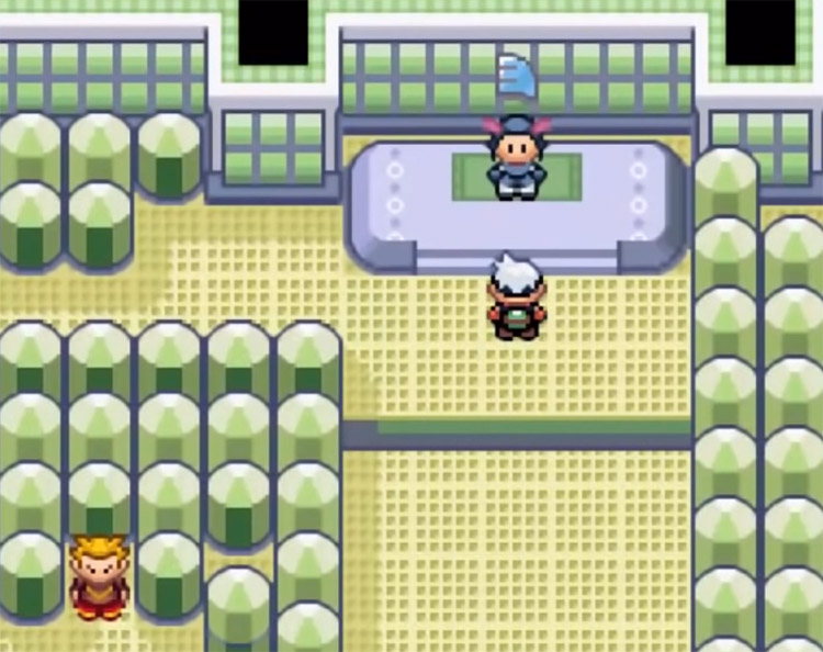 Winona Gym Leader in Pokemon Emerald