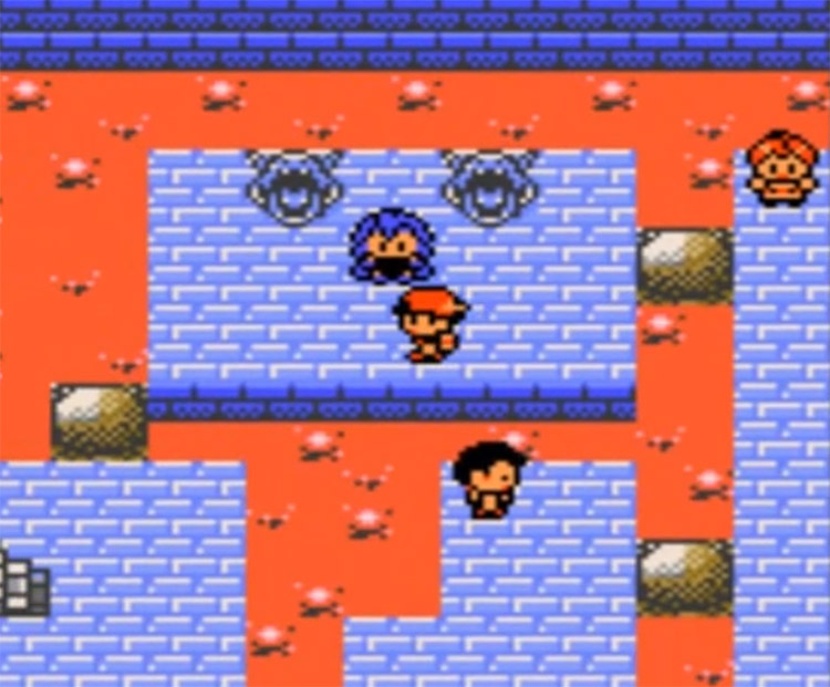 Clair Gym Leader in Pokemon Crystal