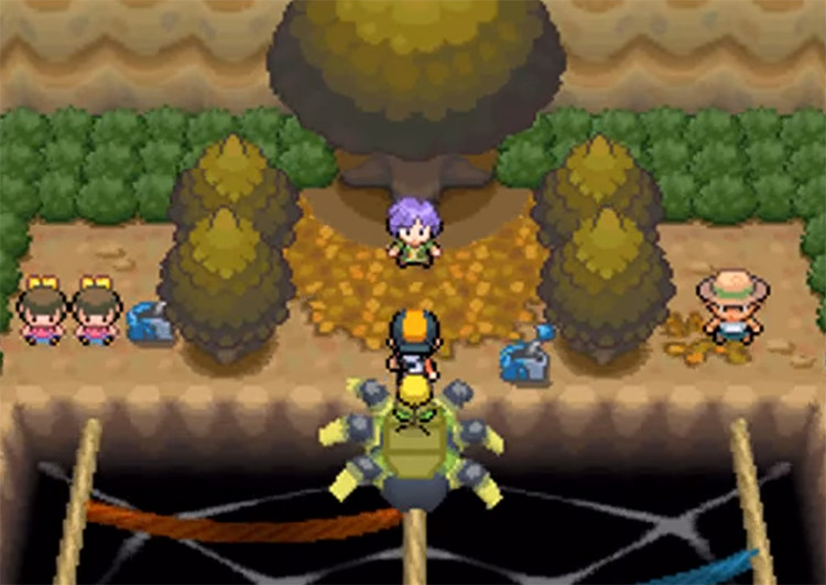 Bugsy Gym Screenshot from HeartGold