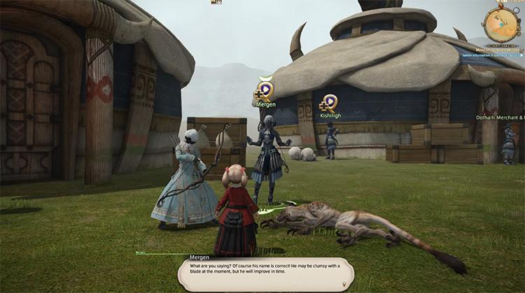 Mauci of the Seven Worries FFXIV screenshot