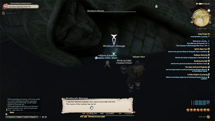 Greatest Story Never Told in FF14