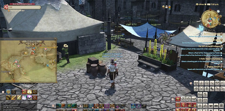 Toll Booty in Final Fantasy XIV